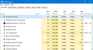 Task Manager Windows 10