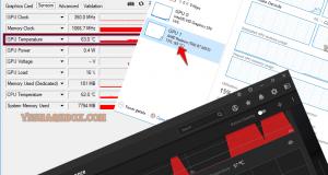 Tim nhiệt độ GPU trên Windows 10