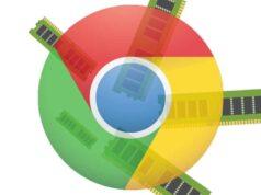 Mức độ sử dụng Ram của Chrome trên Windows 10